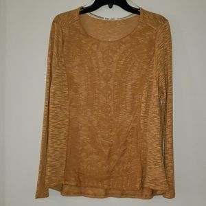 New with tags Mustard colored Top by Jolt